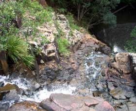 Gypsy Falls Waterfall   Retreat - Surfers Gold Coast