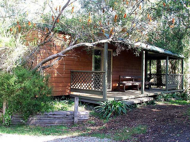 Jervis Bay Cabins  Hidden Creek Real Camping - Surfers Gold Coast