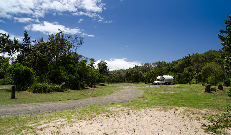 Banksia Green campground - Surfers Gold Coast