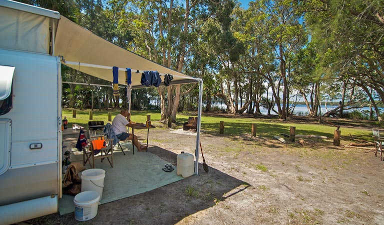 Dees Corner campground - Surfers Gold Coast