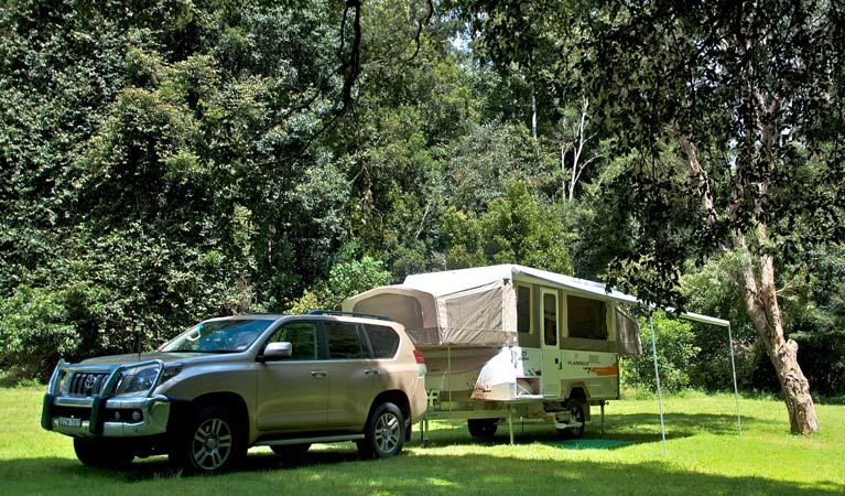 Gloucester River campground - Surfers Gold Coast