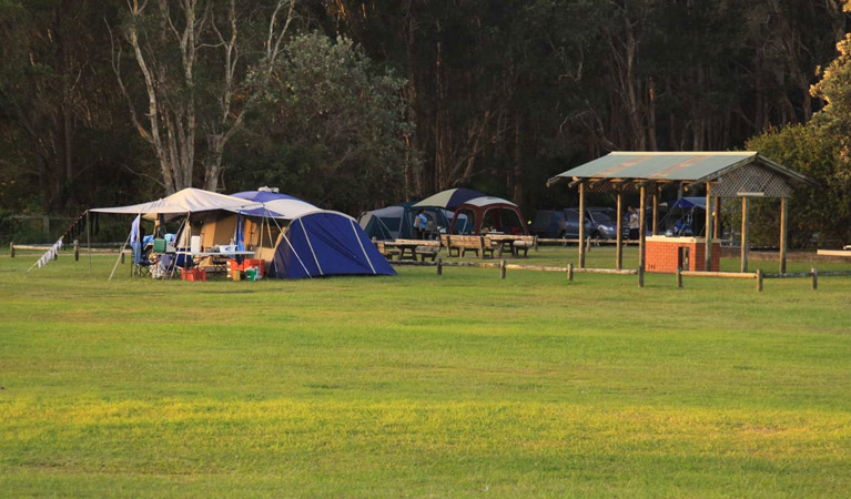 The Ruins campground and picnic area - Surfers Paradise Gold Coast