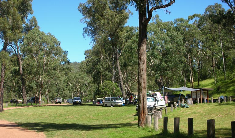Washpools campground - Surfers Gold Coast