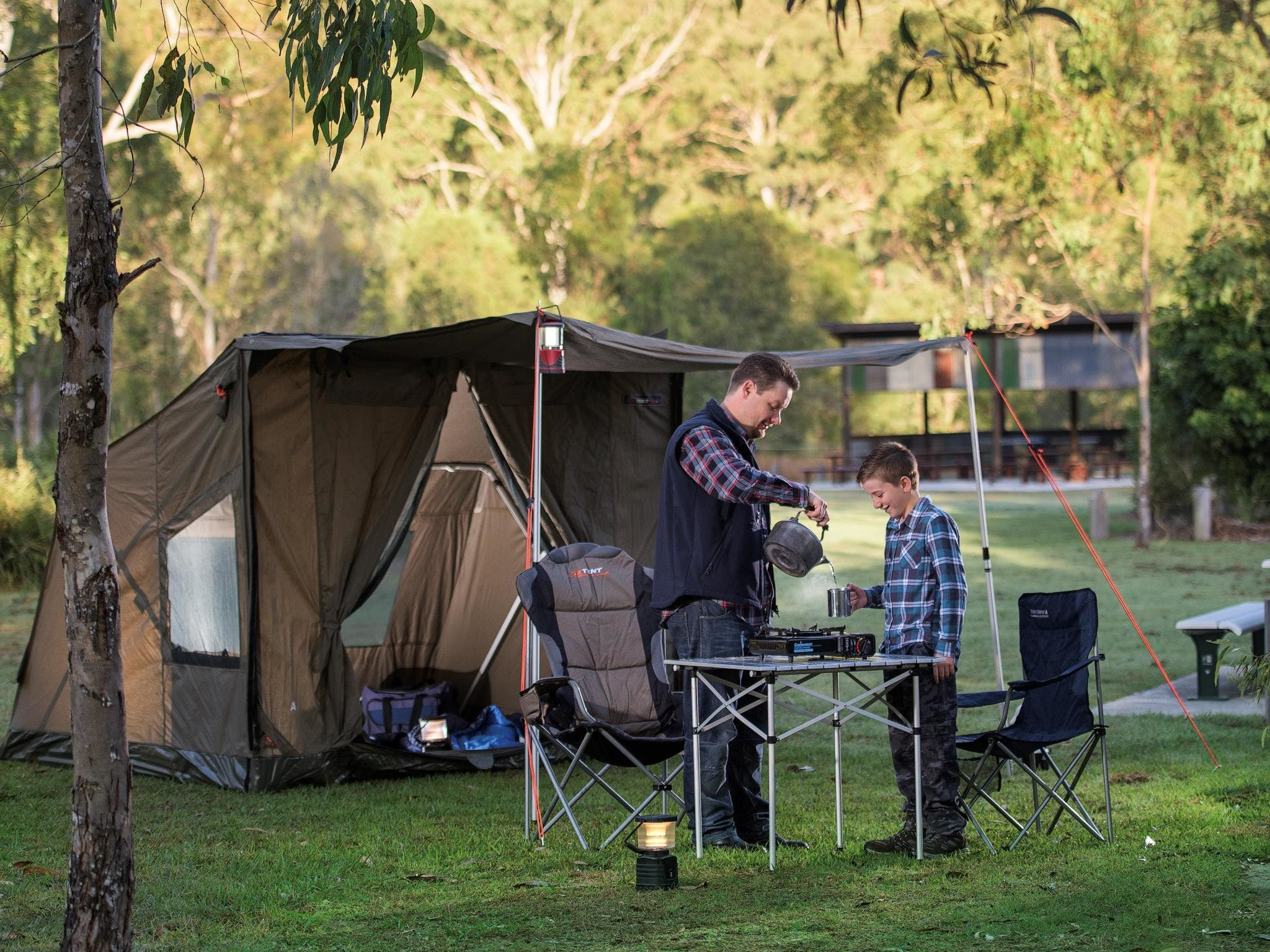 Hardings Paddock Campground - Surfers Gold Coast