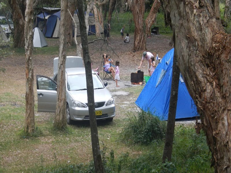 Hungry Gate campground - Surfers Gold Coast
