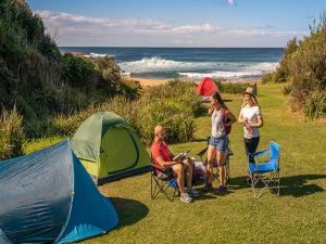 Little Beach campground - Surfers Gold Coast