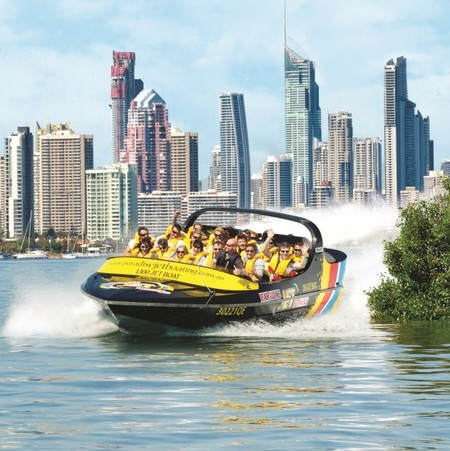 Paradise Jetboating - Surfers Gold Coast