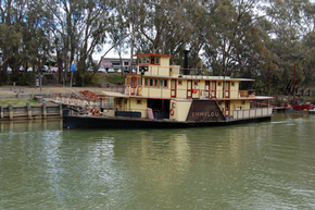 Emmylou Paddle Steamer - Surfers Gold Coast