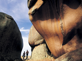 Murphy's Haystacks - Ancient Granite Rock - Surfers Gold Coast