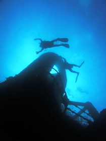 Ex HMAS Brisbane Dive Site - Surfers Gold Coast