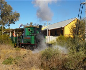 Red Cliffs Historical Steam Railway - Surfers Gold Coast