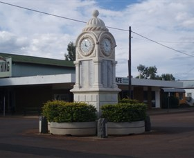 Barcaldine War Memorial Clock - Surfers Gold Coast