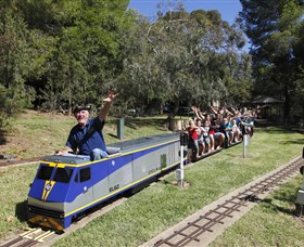 Willans Hill Miniature Railway - Surfers Gold Coast