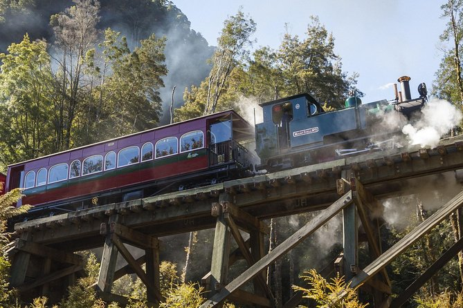 West Coast Wilderness Railway Queenstown Explorer from Strahan - Surfers Gold Coast