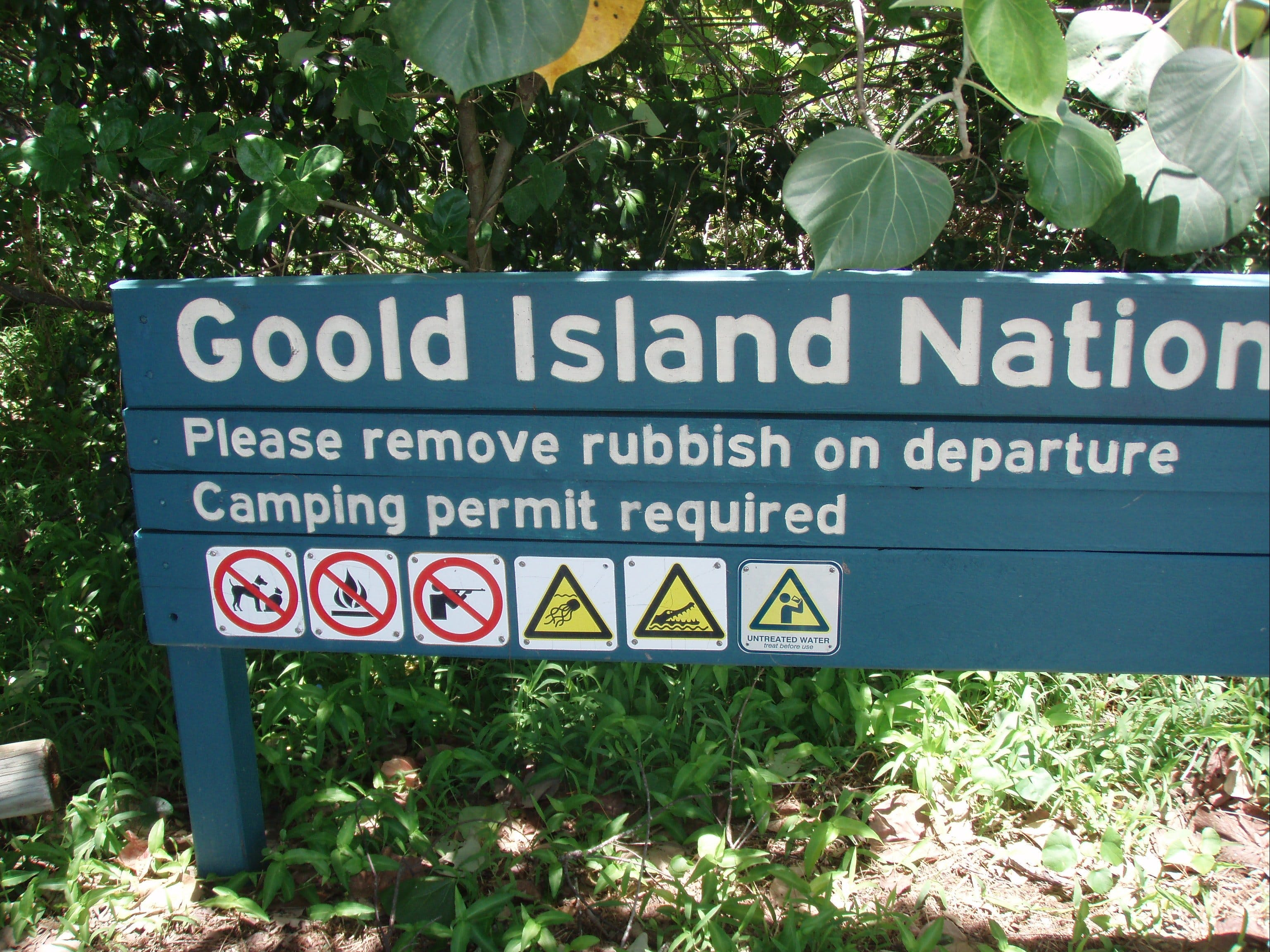 Goold Island National Park - Surfers Gold Coast