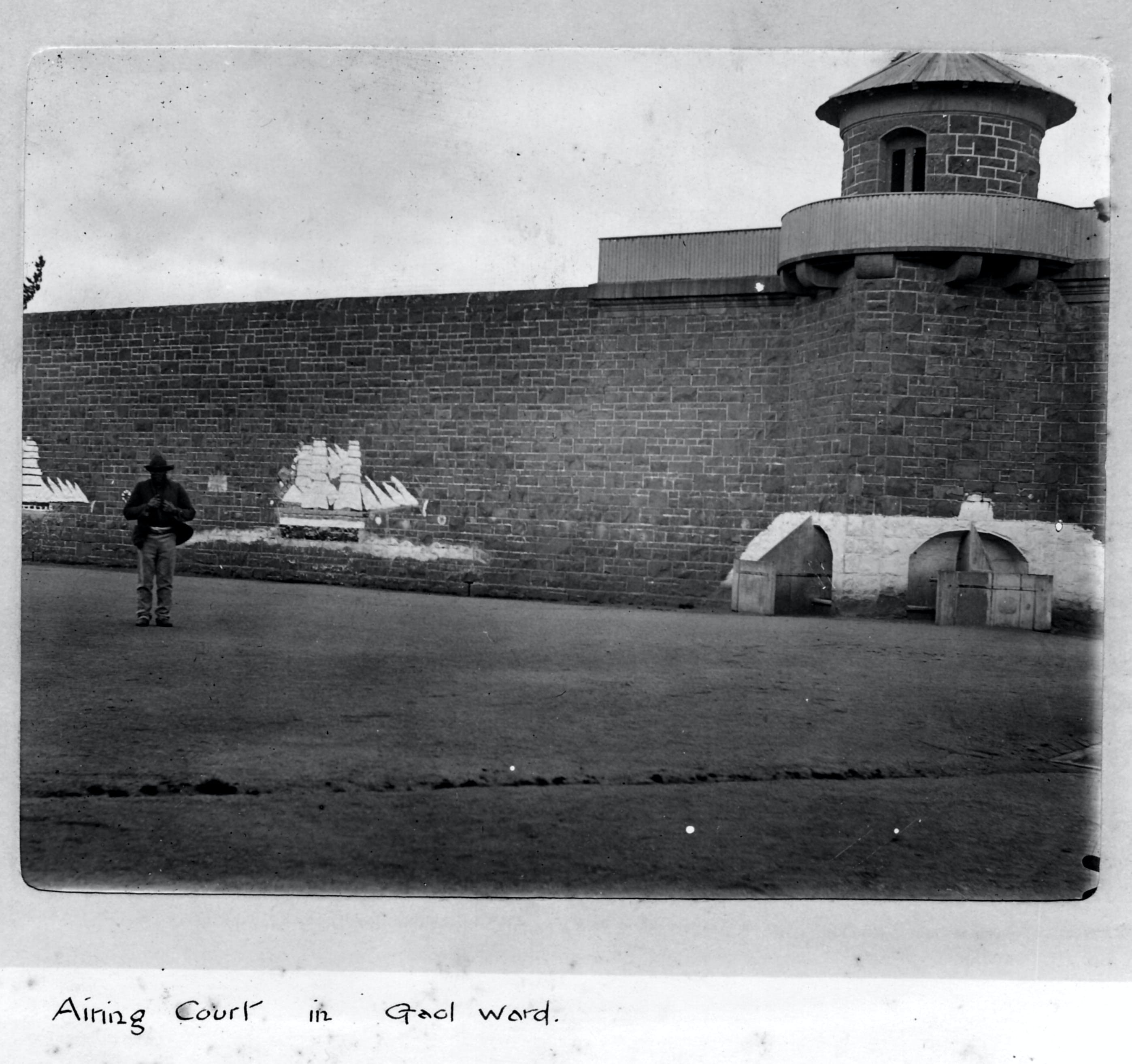 J Ward Ararat's Old Gaol and Lunatic Asylum - Surfers Gold Coast