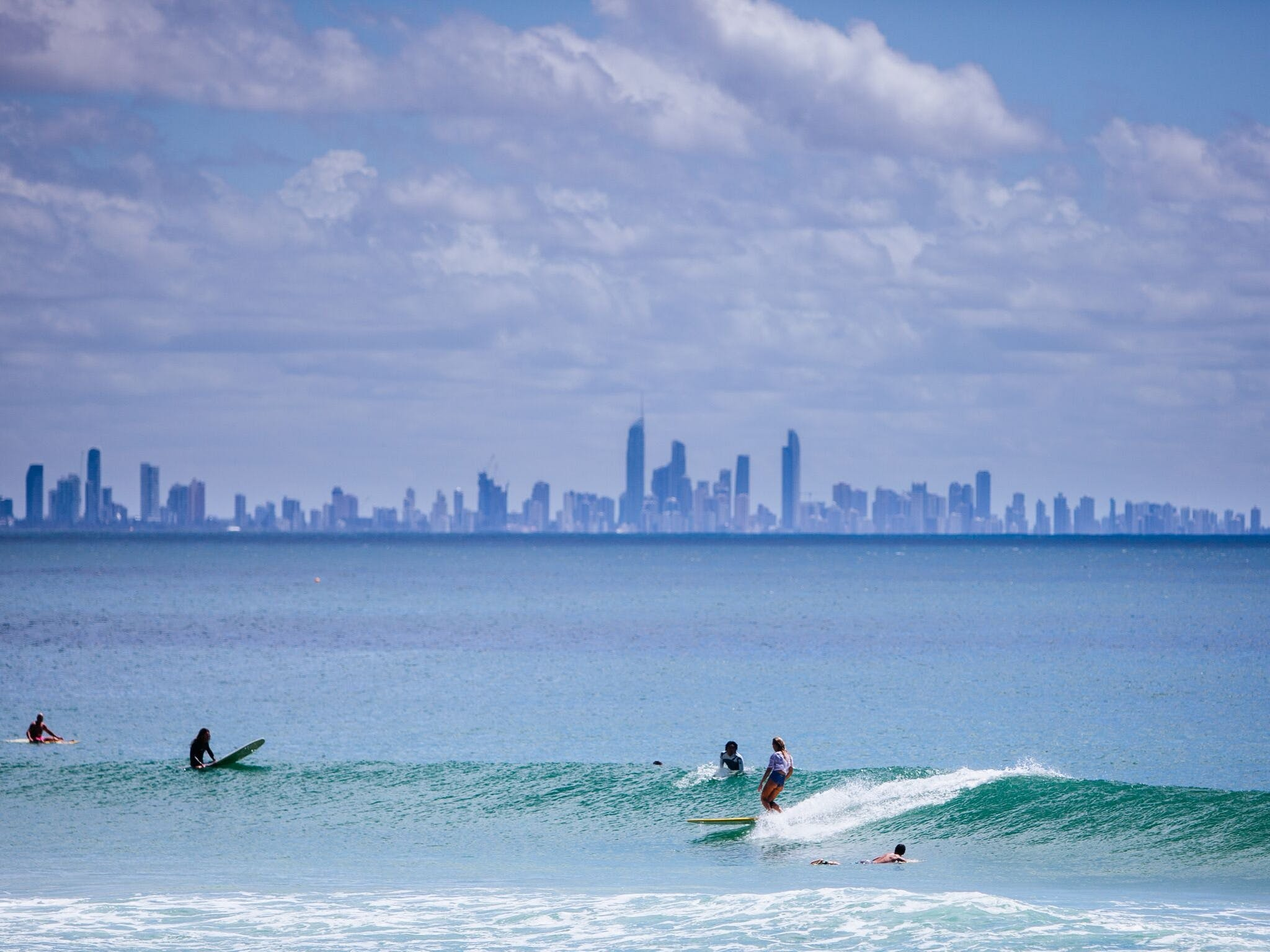 Kirra Point - Surfers Gold Coast