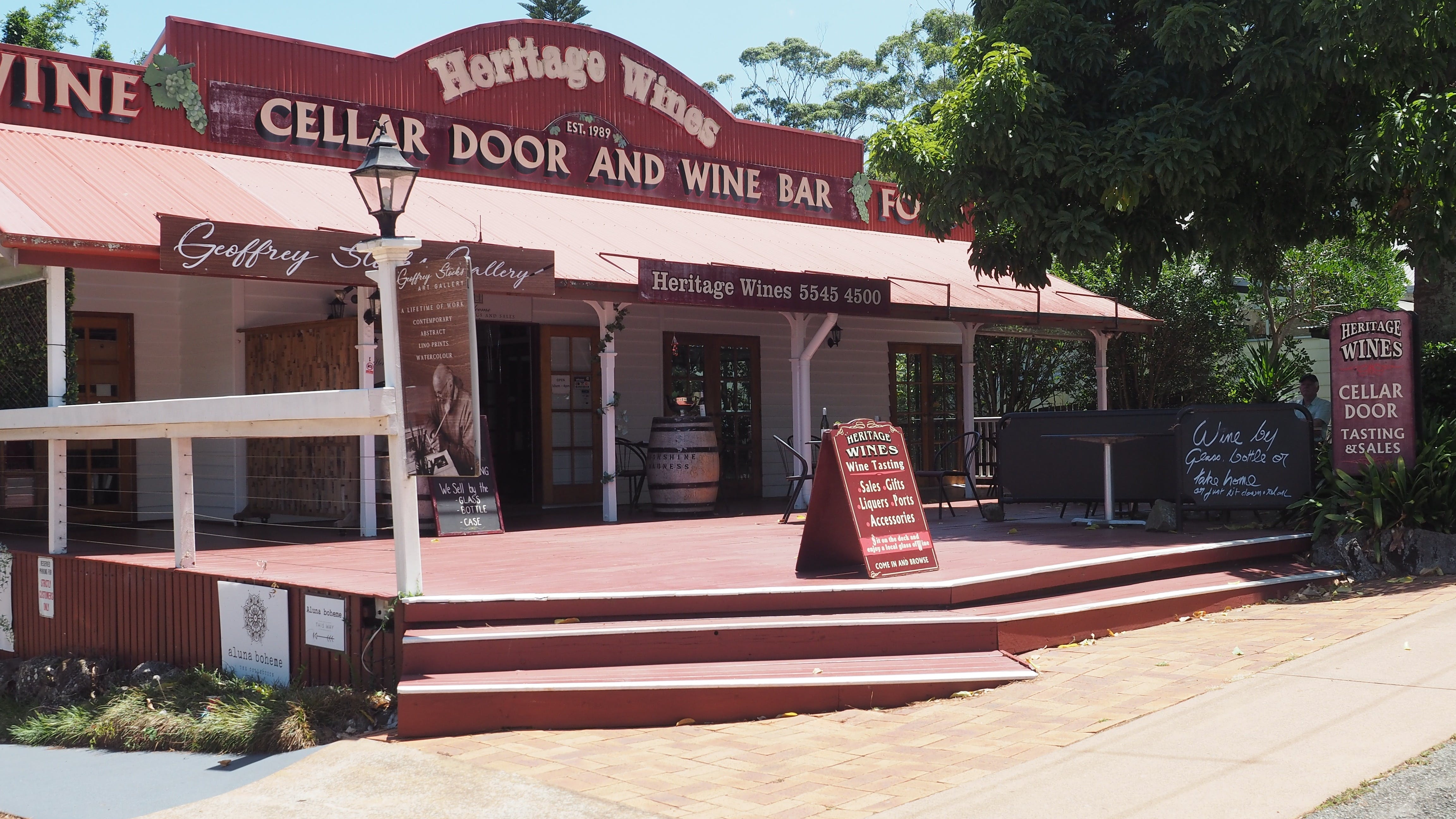Heritage Estate Winery Cellar Door - Surfers Gold Coast