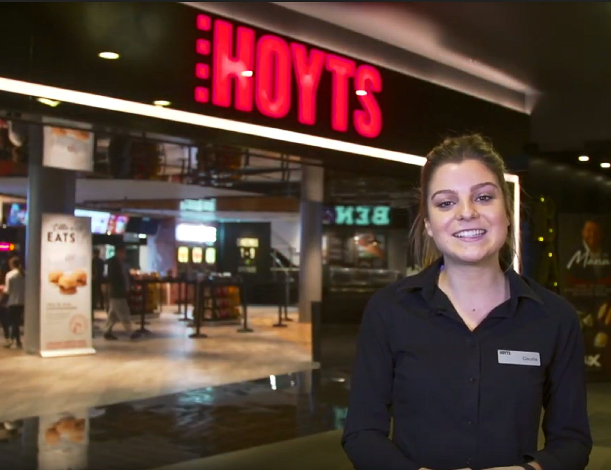 HOYTS - Carousel - Surfers Gold Coast