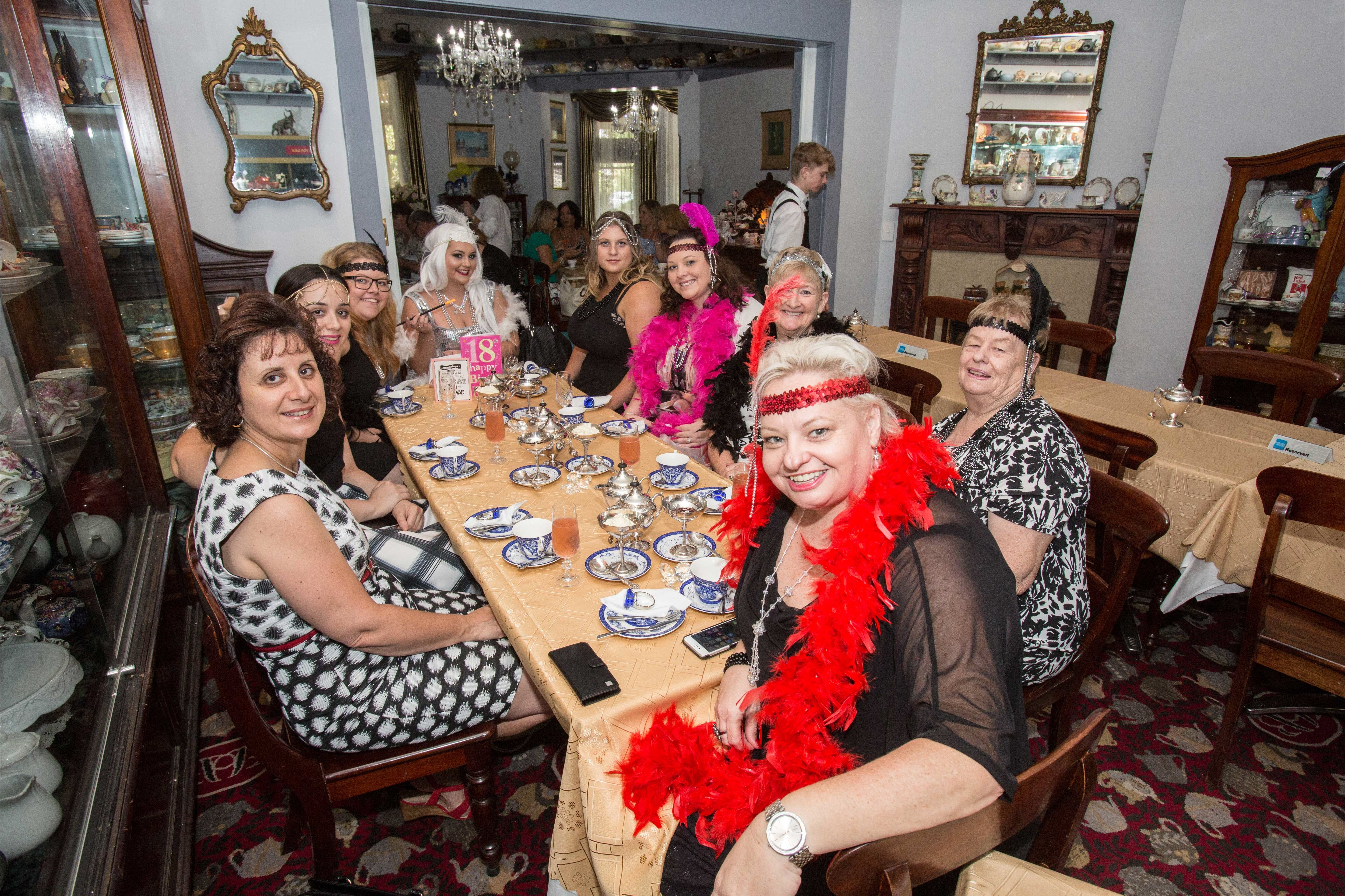Bygone Beauty's Traditional High Tea Supreme for Good Food Month. - Surfers Gold Coast