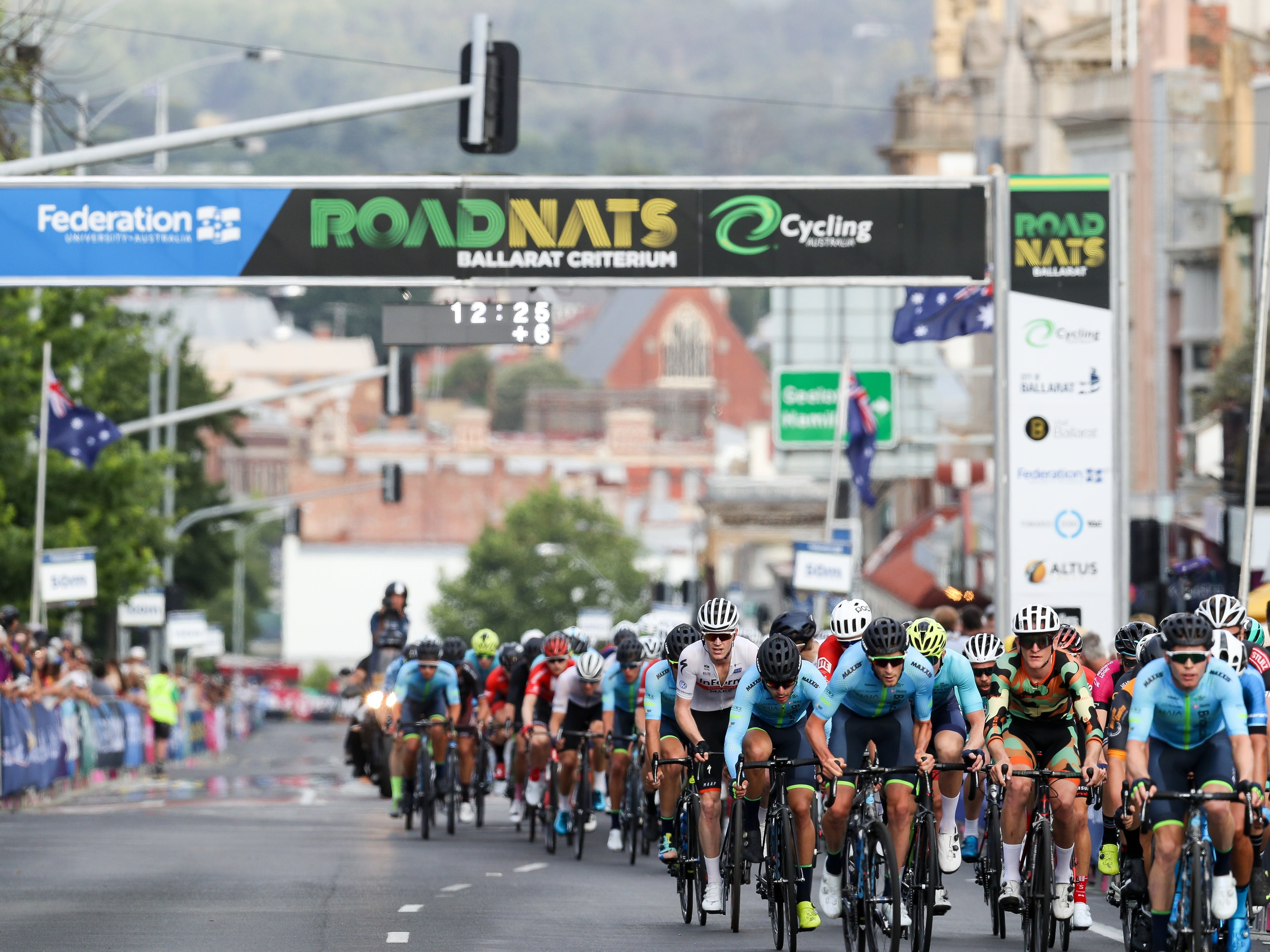 Federation University Criterium National Championships - Ballarat - Surfers Gold Coast