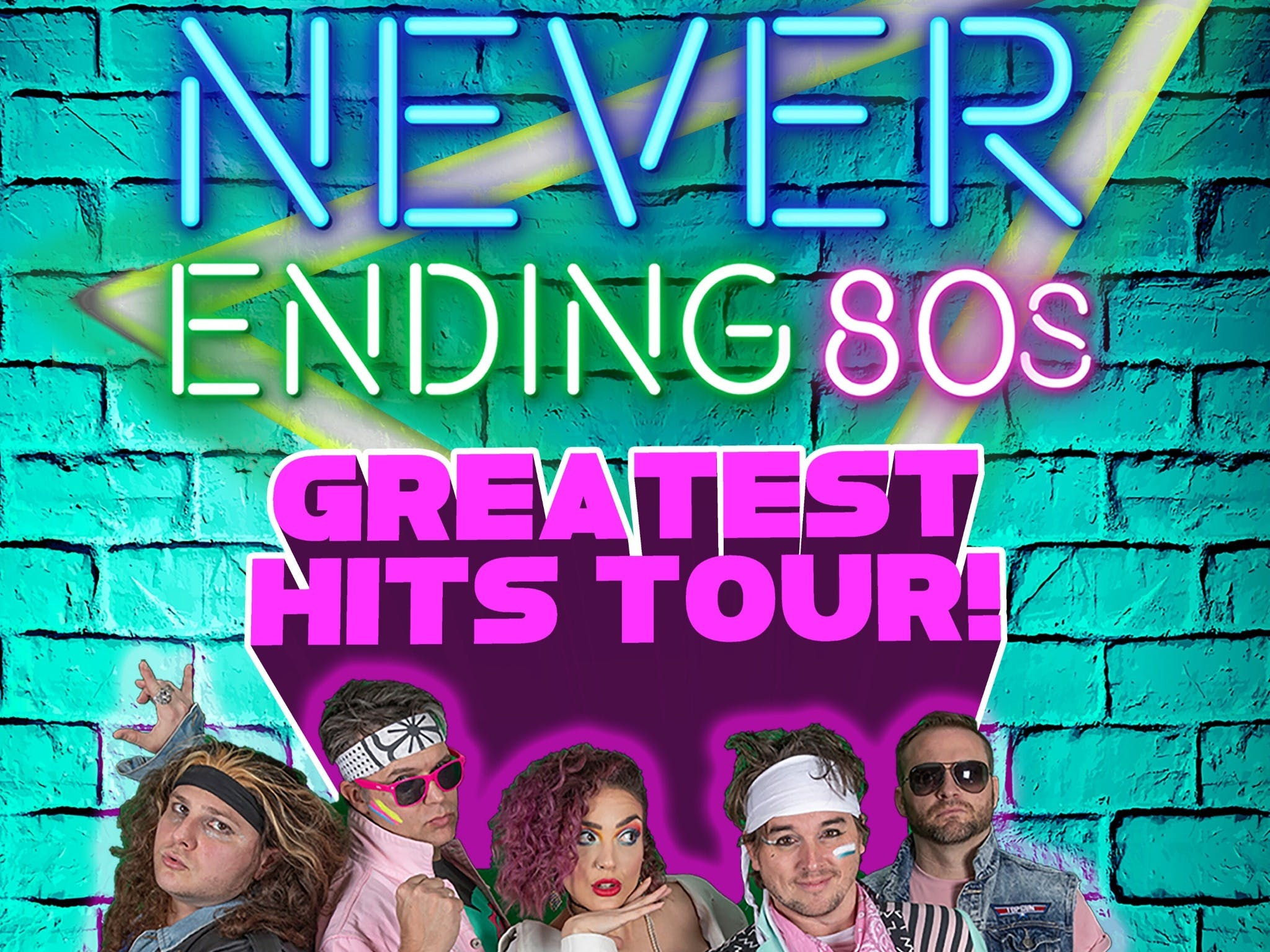 Never Ending 80s - The Greatest Hits Tour - Surfers Gold Coast