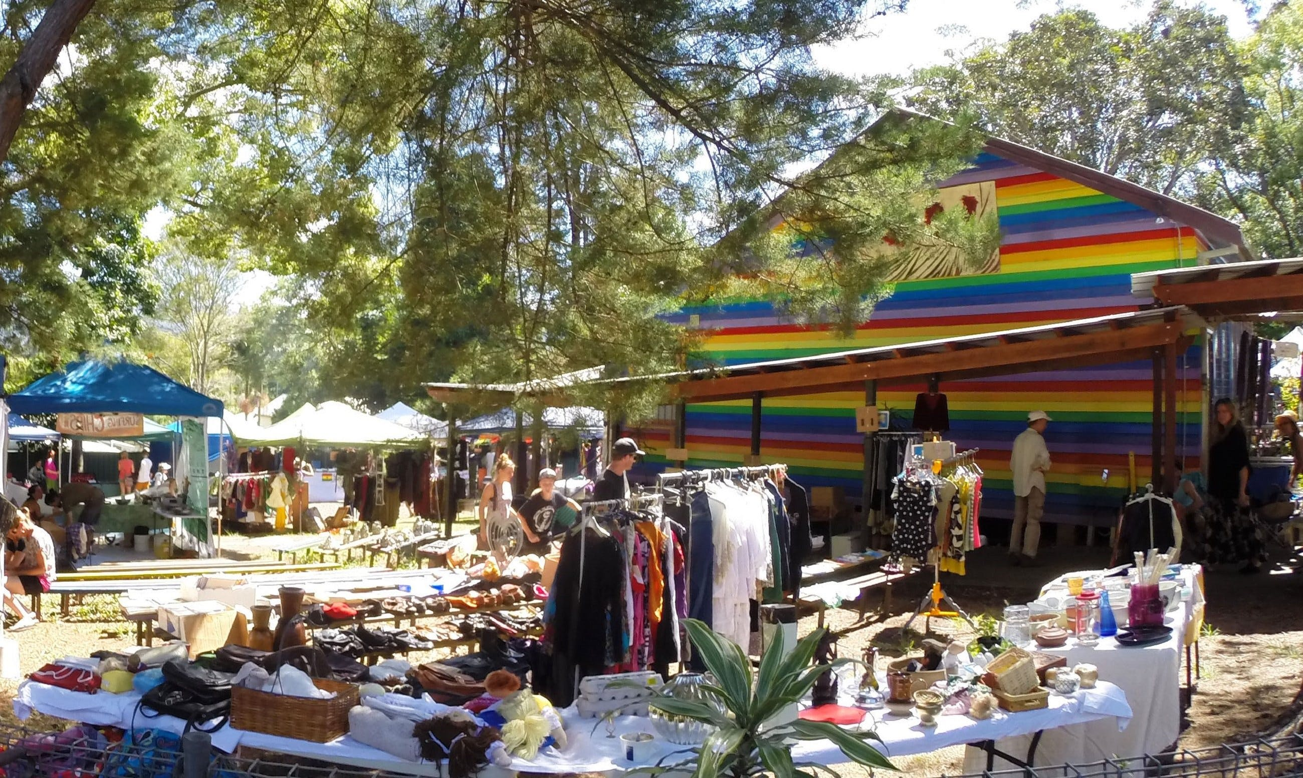 Nimbin Markets - Surfers Gold Coast