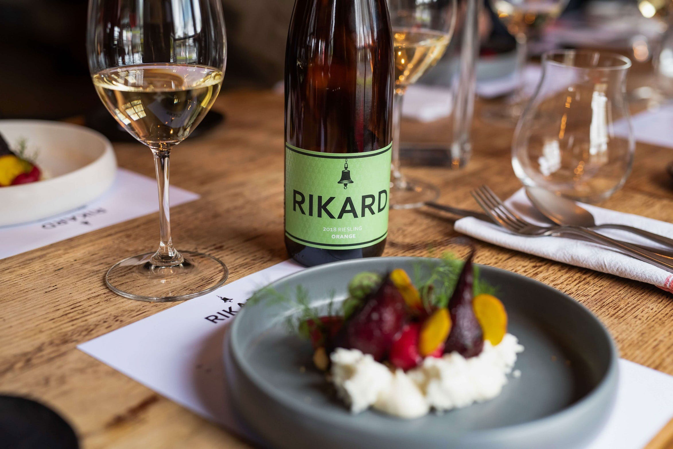 RIKARD Wines at Charred - Surfers Gold Coast