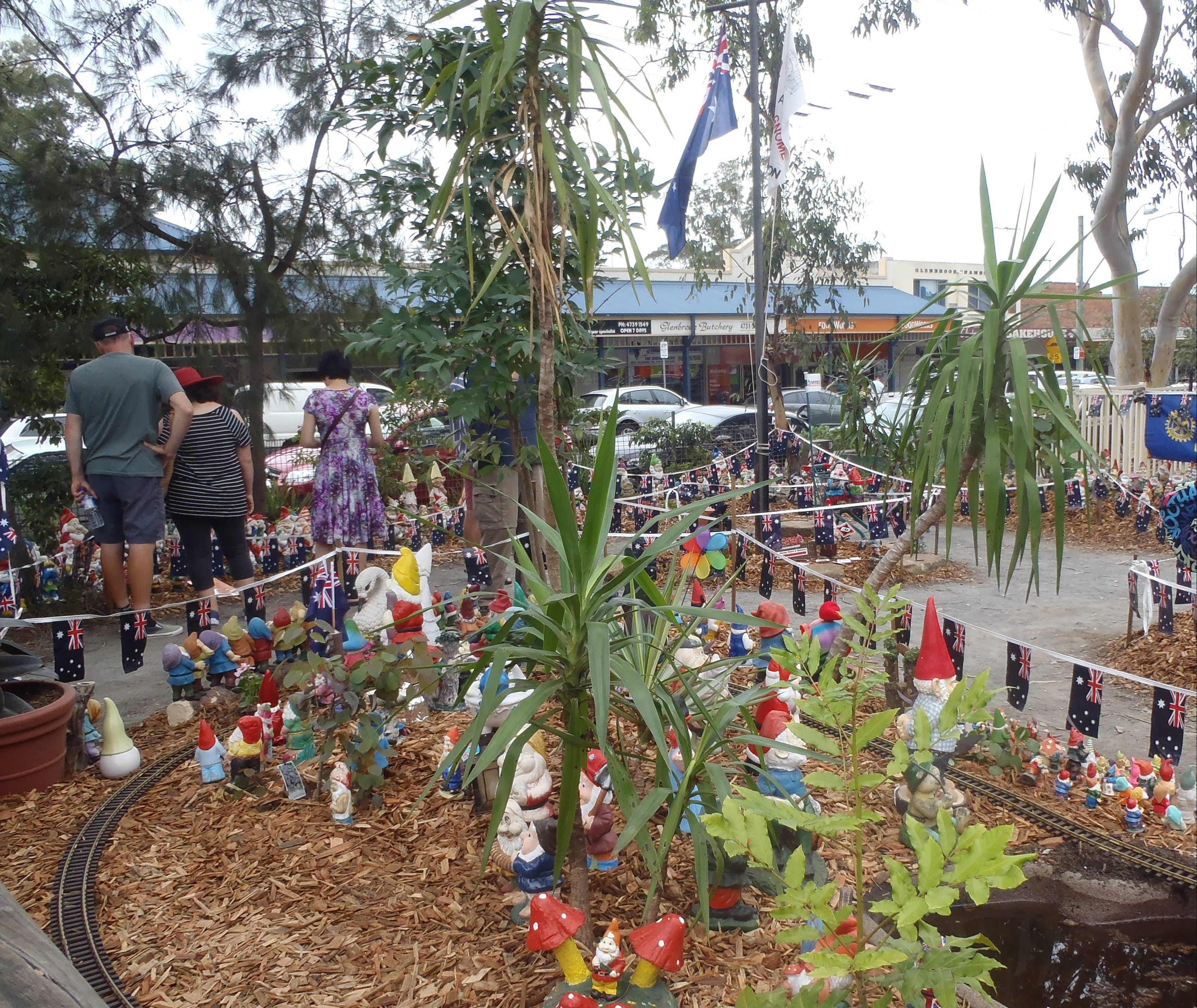 Australia Day with the Australian Gnome Convention Glenbrook - Surfers Gold Coast