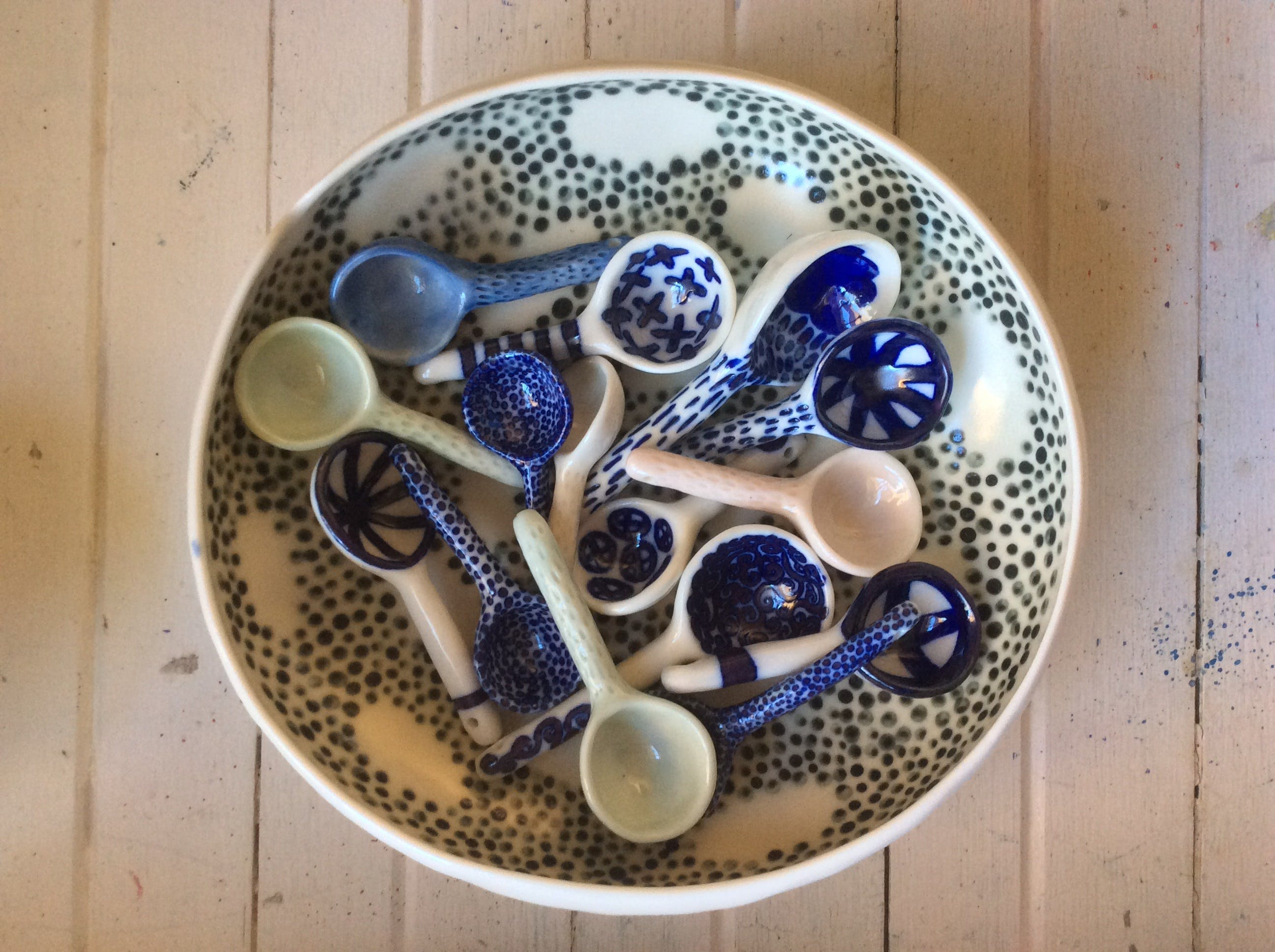 Ceramic Spoons with Nicole Ison - Surfers Gold Coast