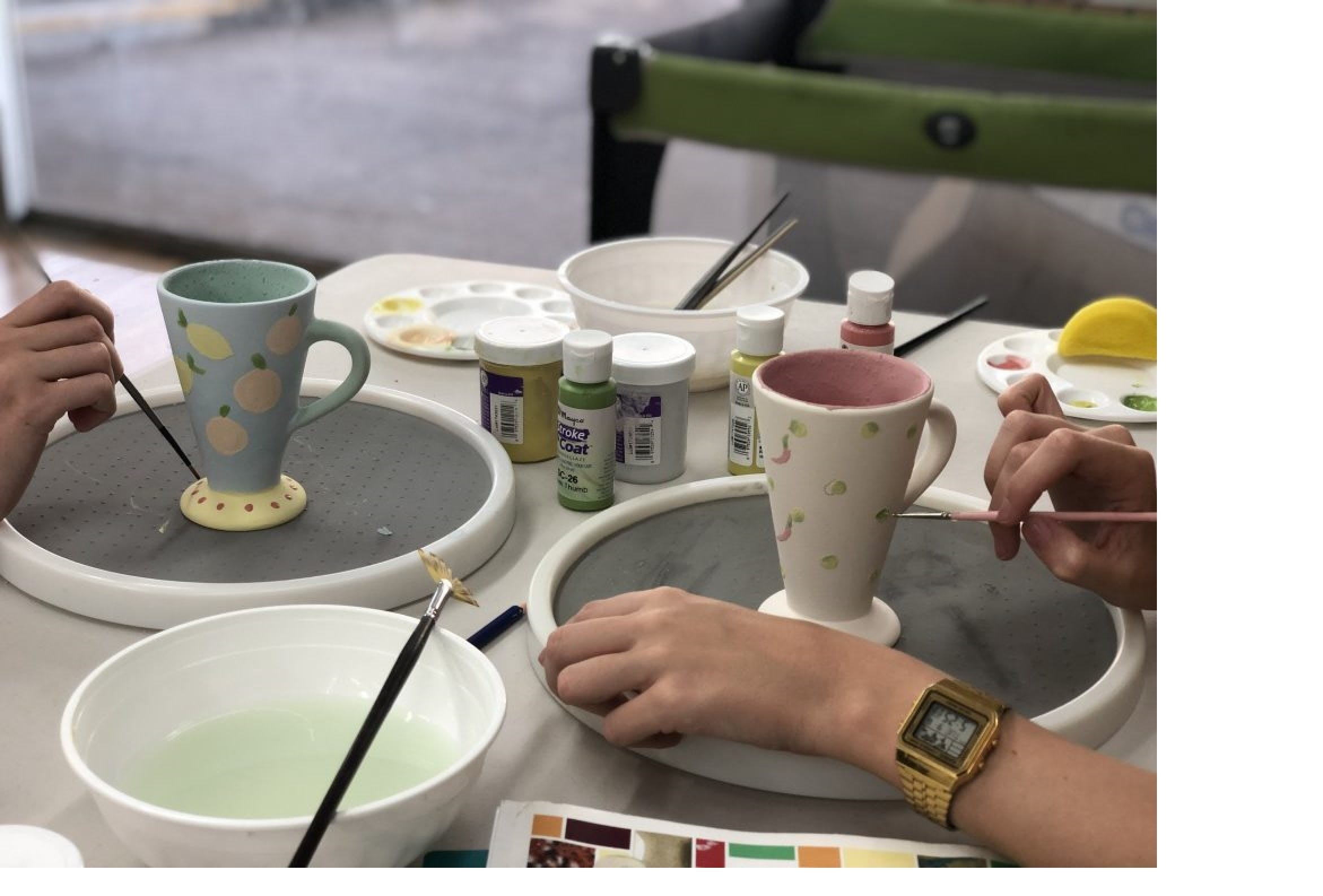 Ceramic Painting Class - Surfers Gold Coast