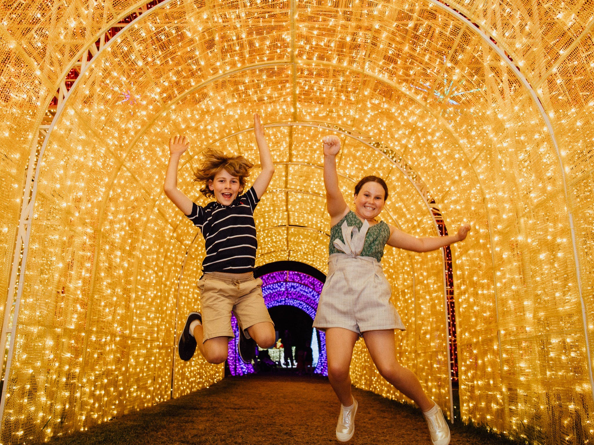 Christmas Lights Spectacular New Year's Eve at Hunter Valley Gardens - Surfers Gold Coast