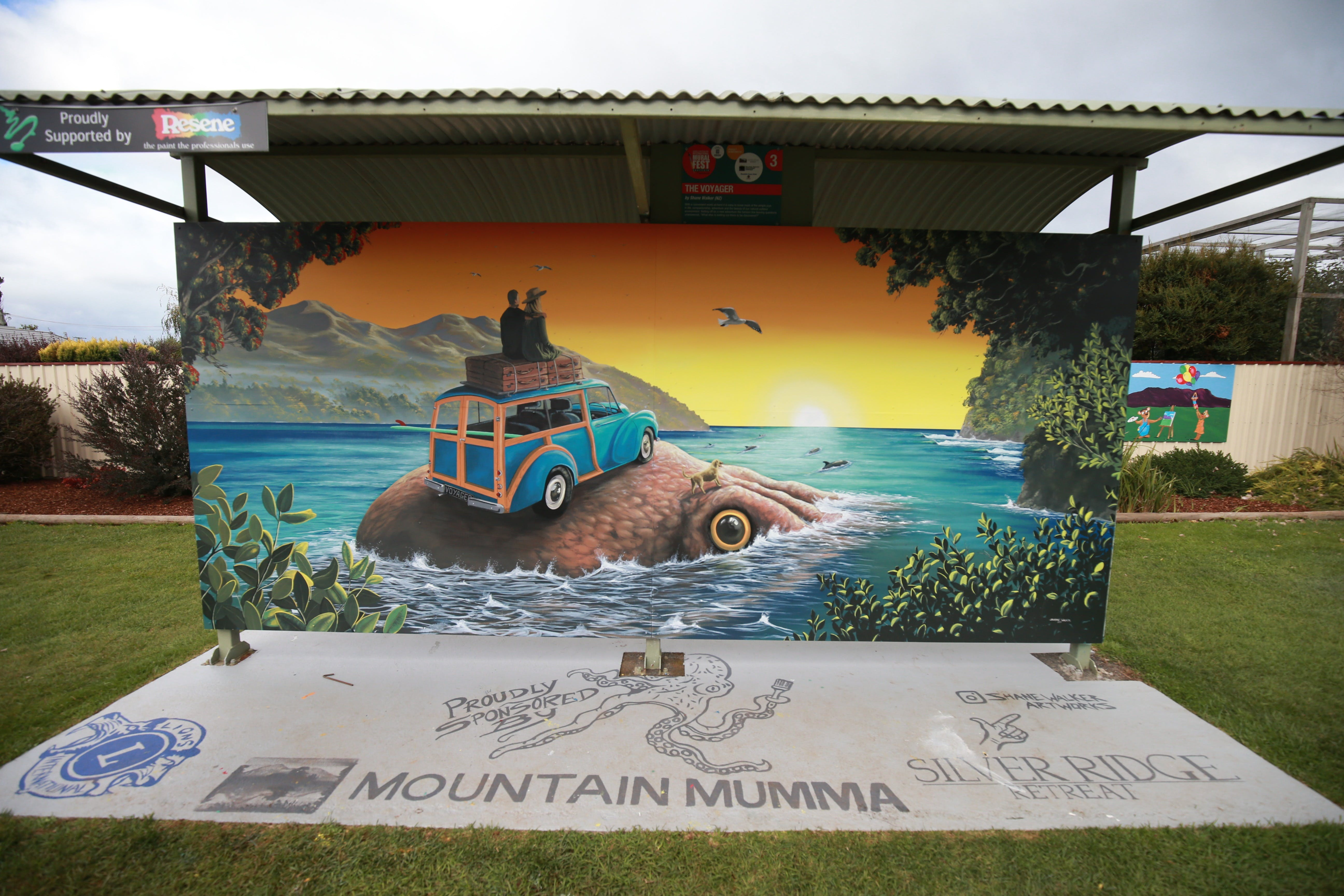 Davies Construction International Mural Fest - Surfers Gold Coast