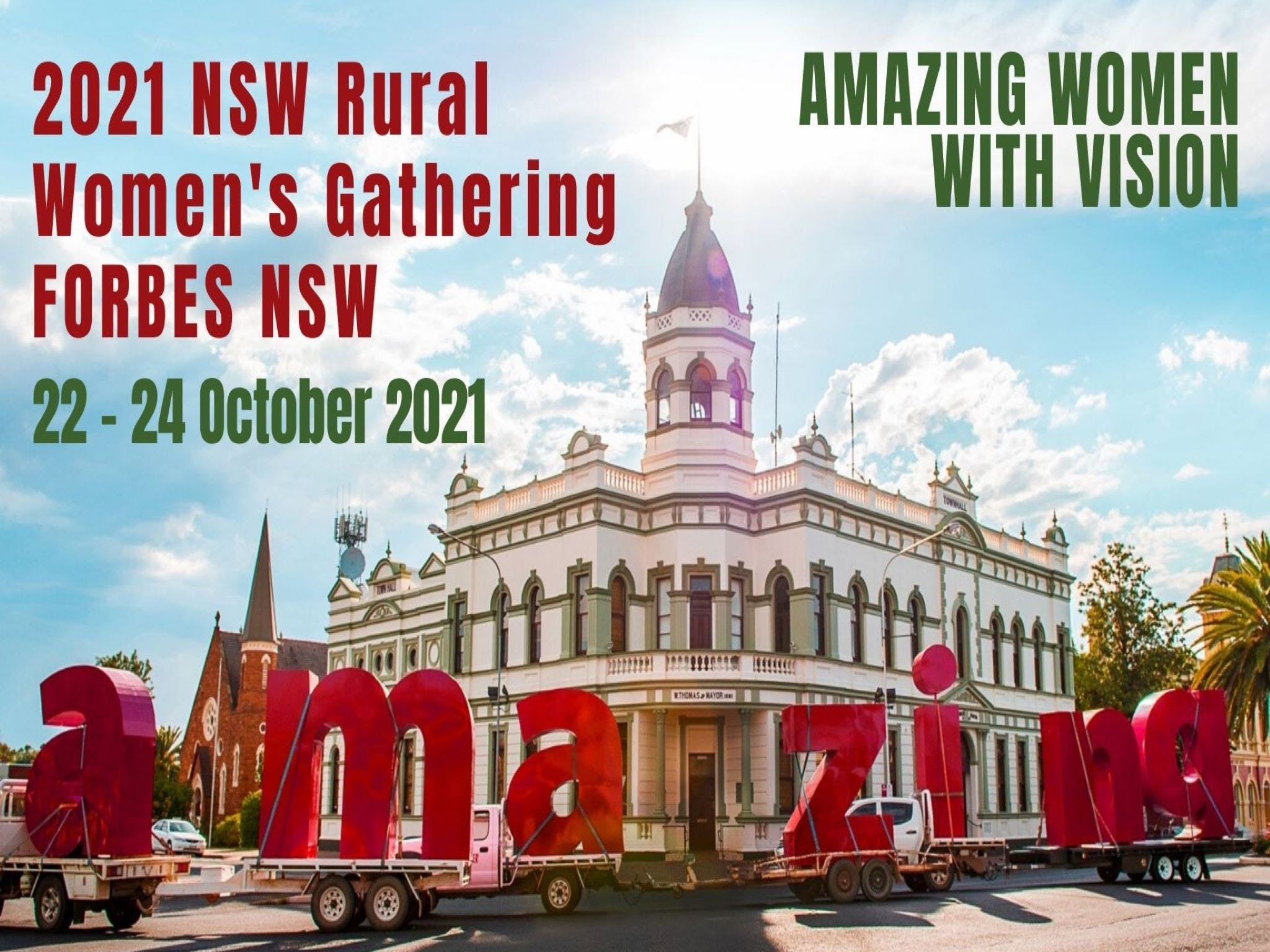 Forbes NSW Rural Women's Gathering - Surfers Gold Coast