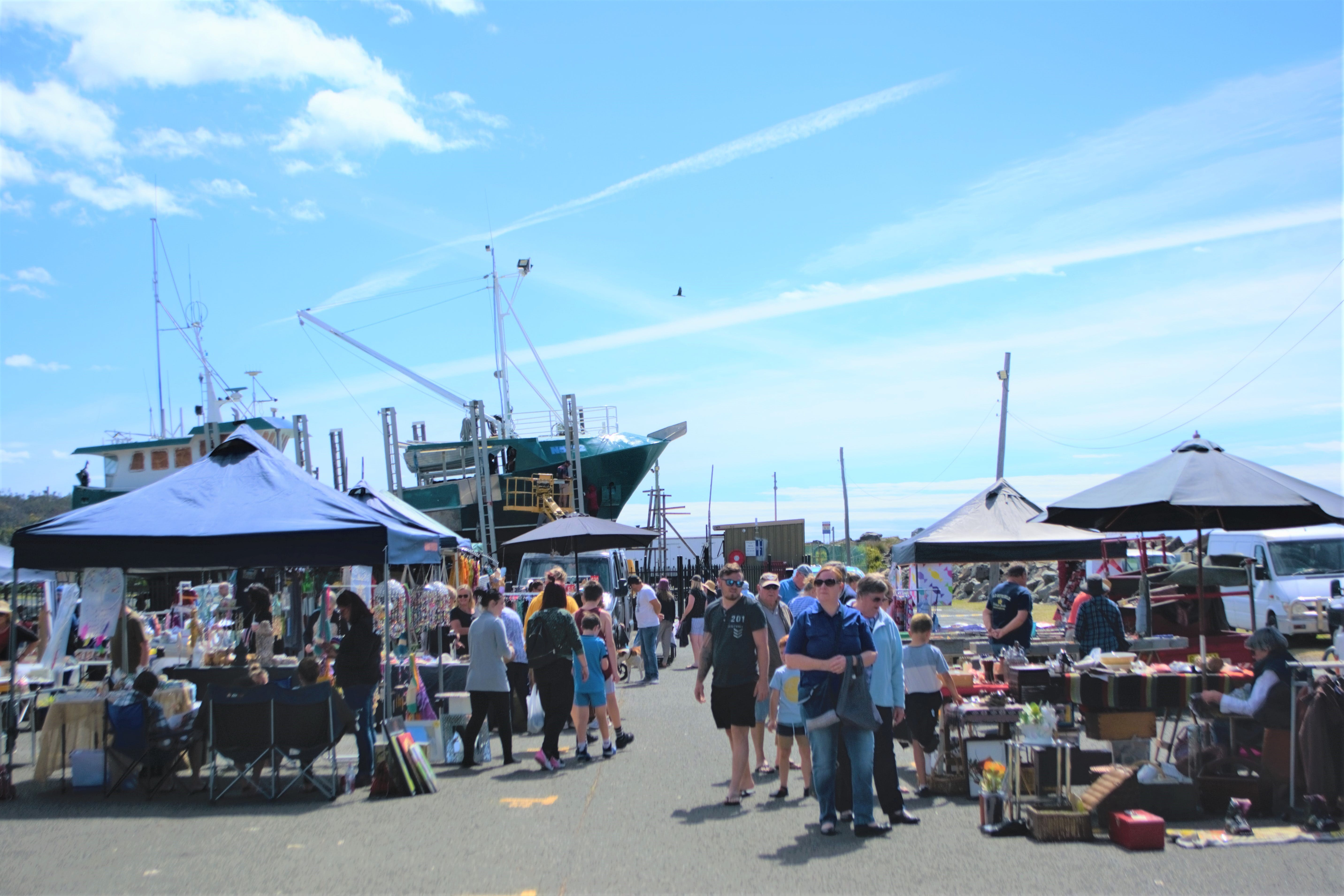 Marine Rescue Ulladulla Wharf Markets - Surfers Gold Coast