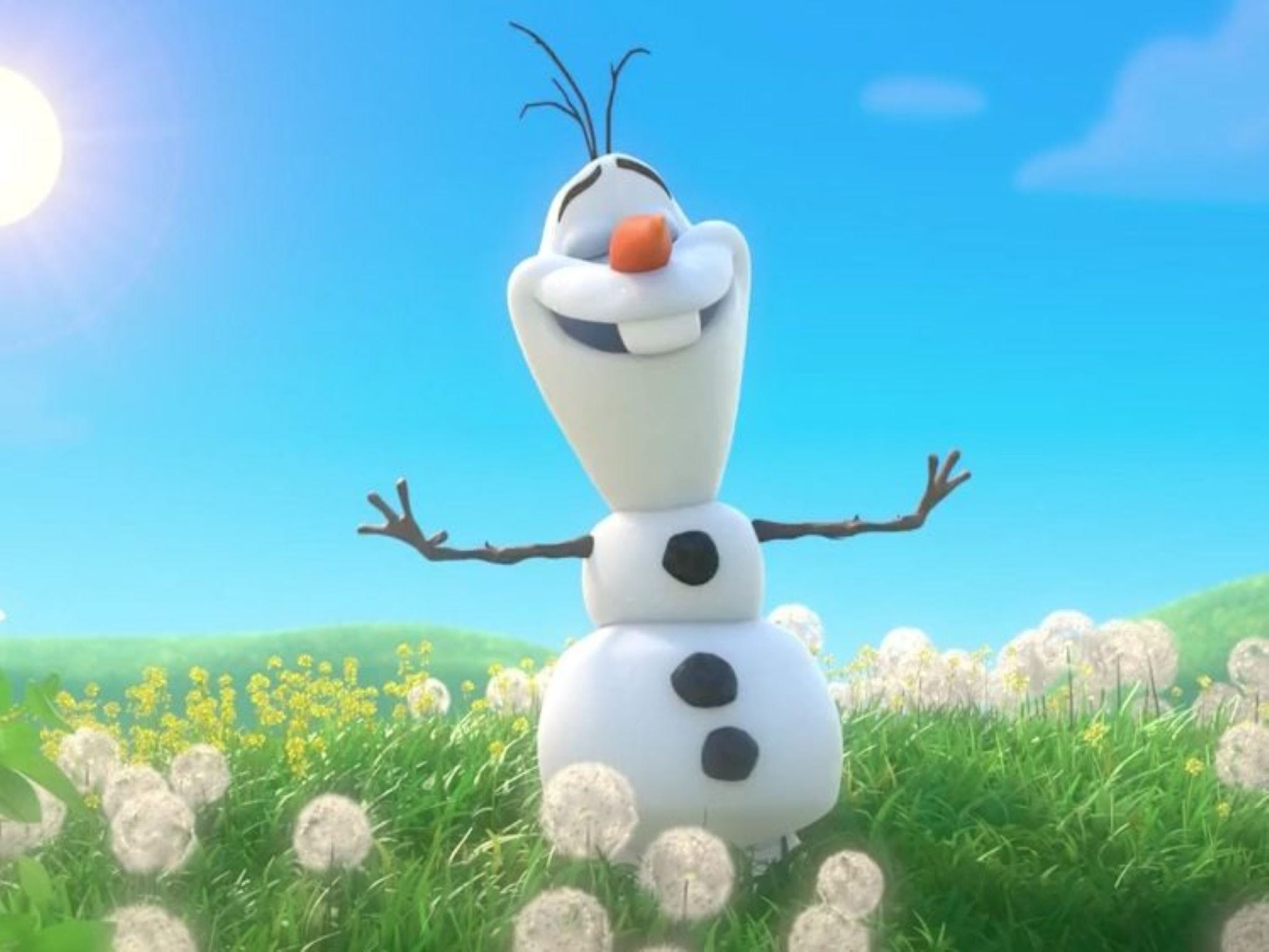 Meet Olaf from Frozen - Surfers Gold Coast