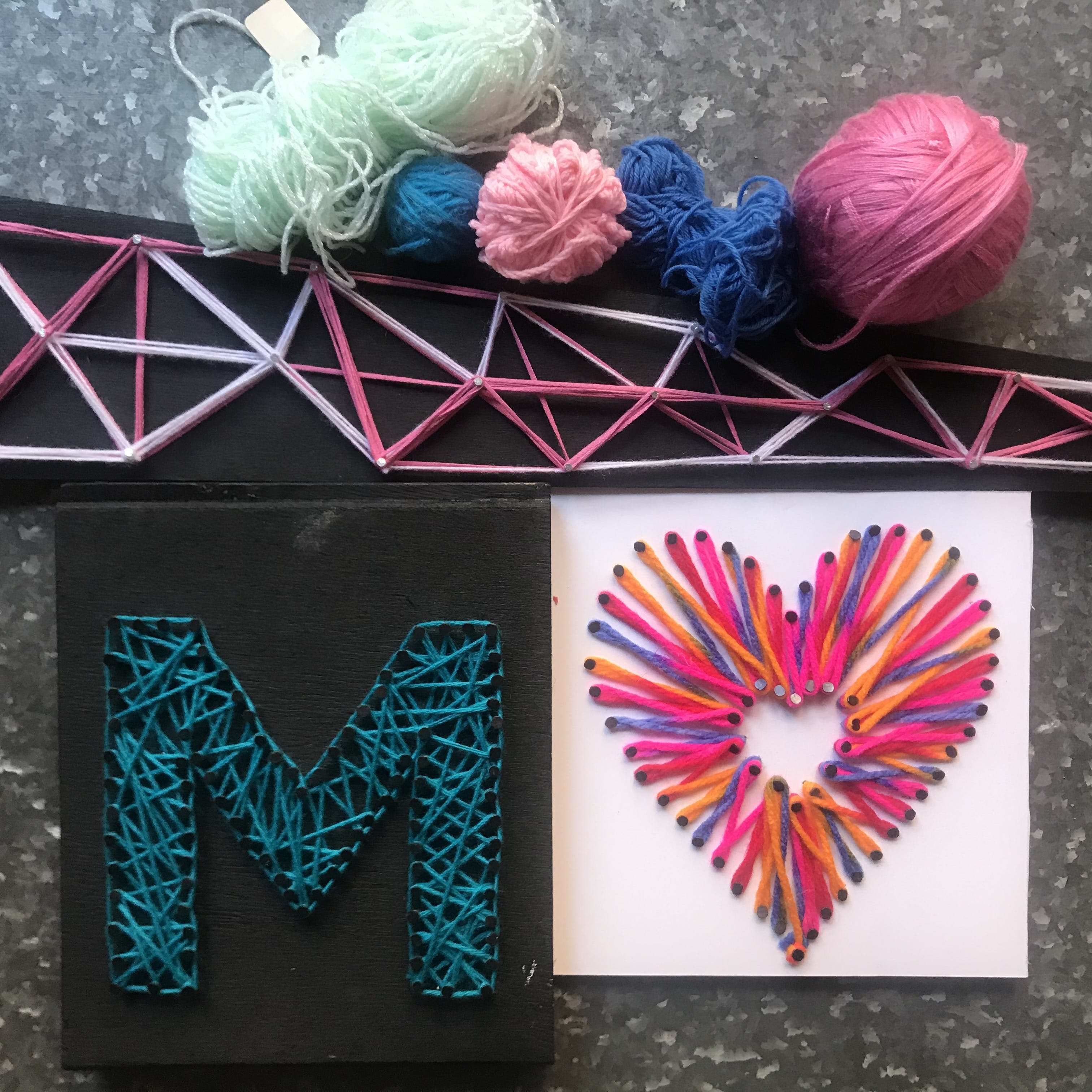 String Art Class for Kids 8-12 Years - Surfers Gold Coast