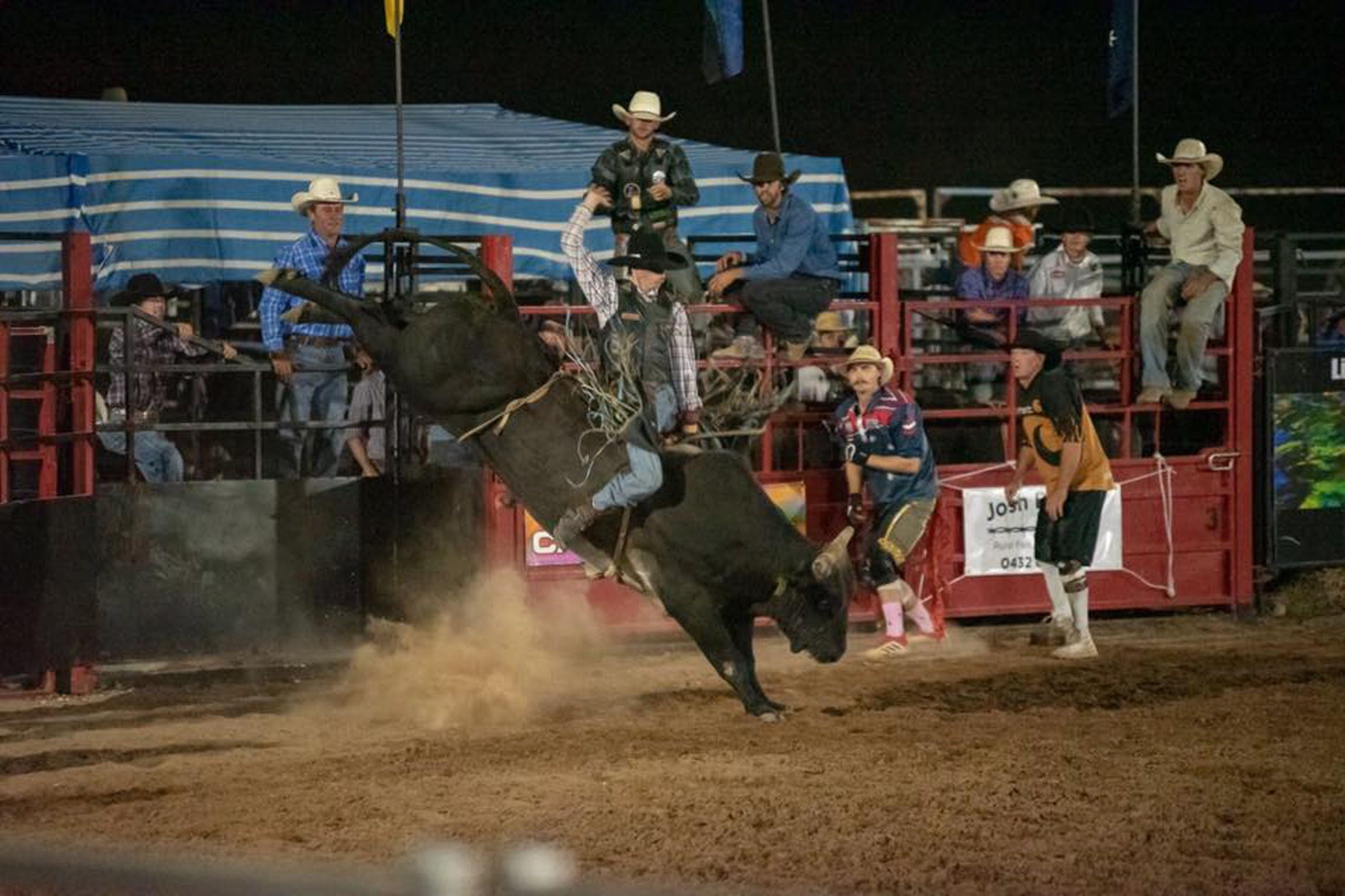 Black Opal Bull and Bronc Ride - Surfers Gold Coast