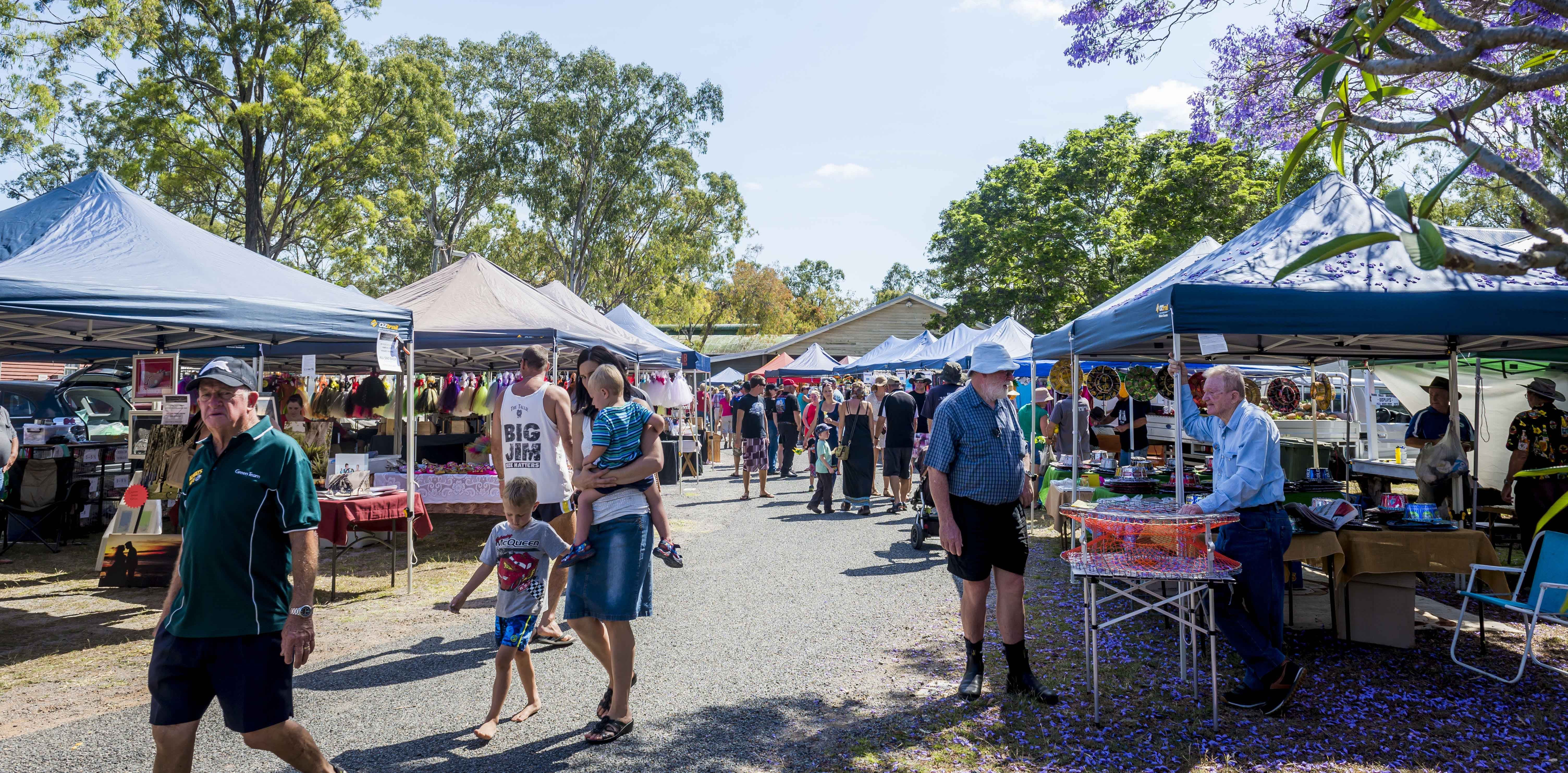 Calliope Historical Village Markets - Surfers Gold Coast
