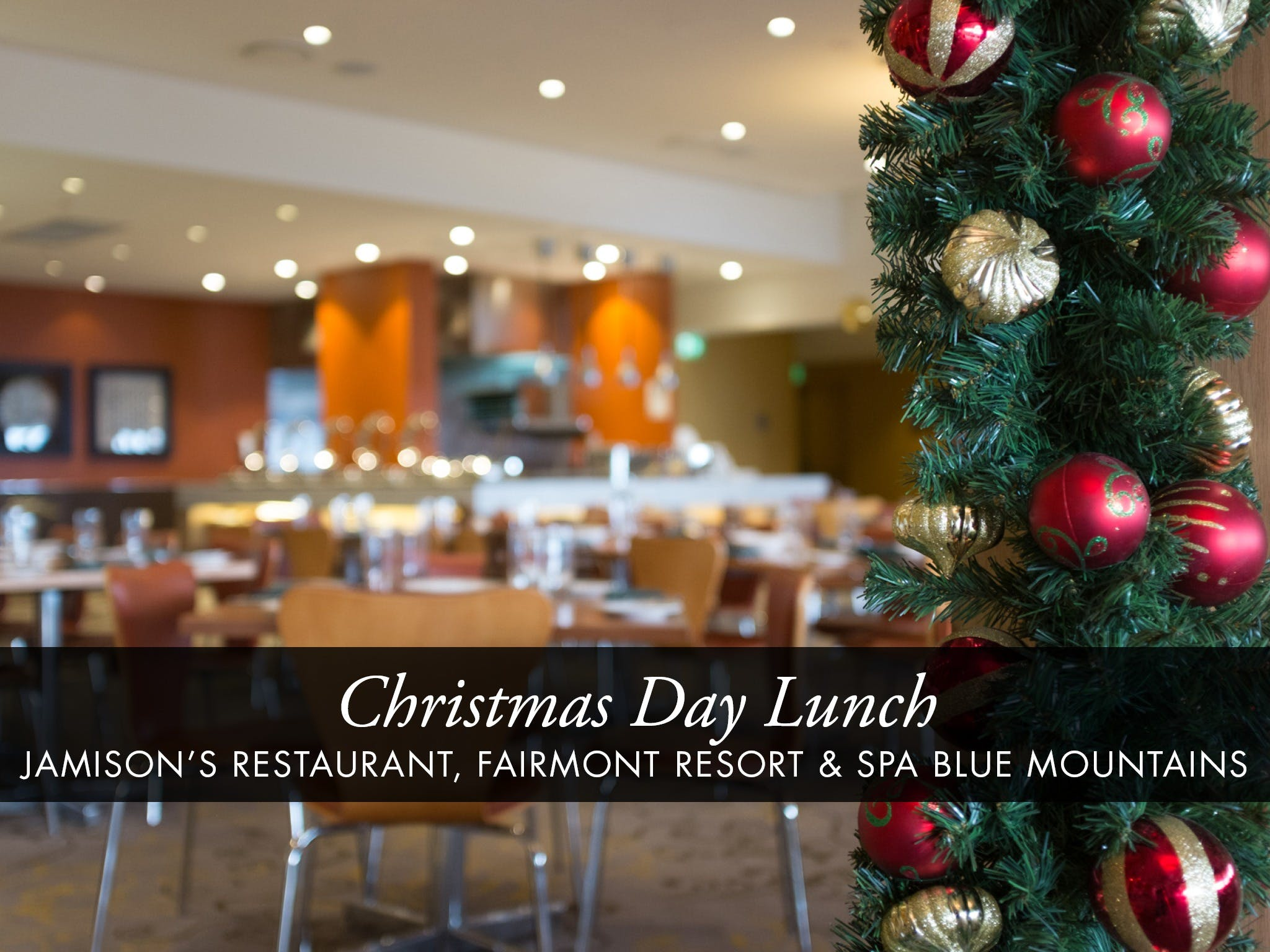 Christmas Day Buffet Lunch at Jamison's Restaurant - Surfers Gold Coast