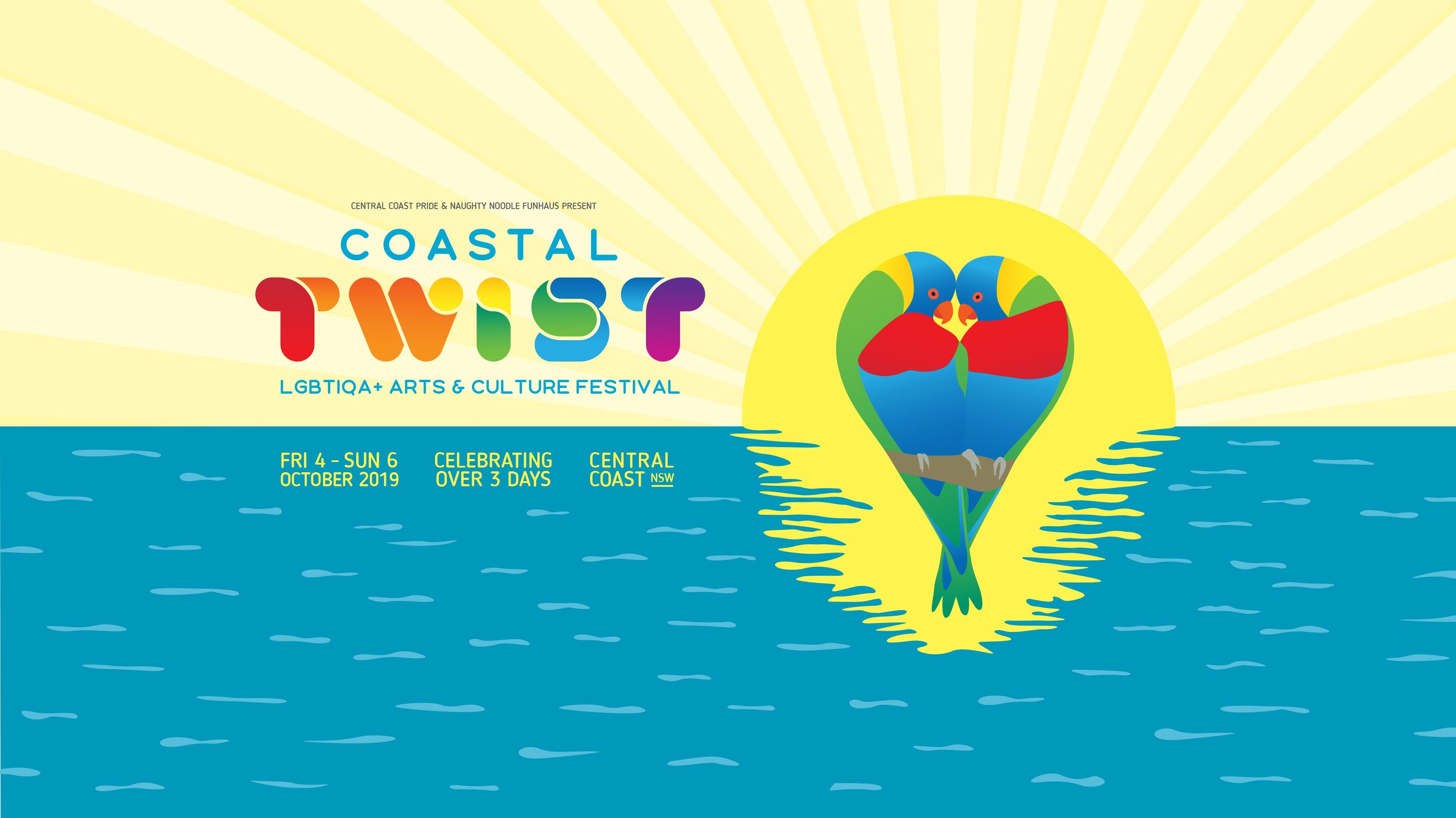 Coastal Twist LGBTIQA Arts and Culture Festival - Surfers Gold Coast