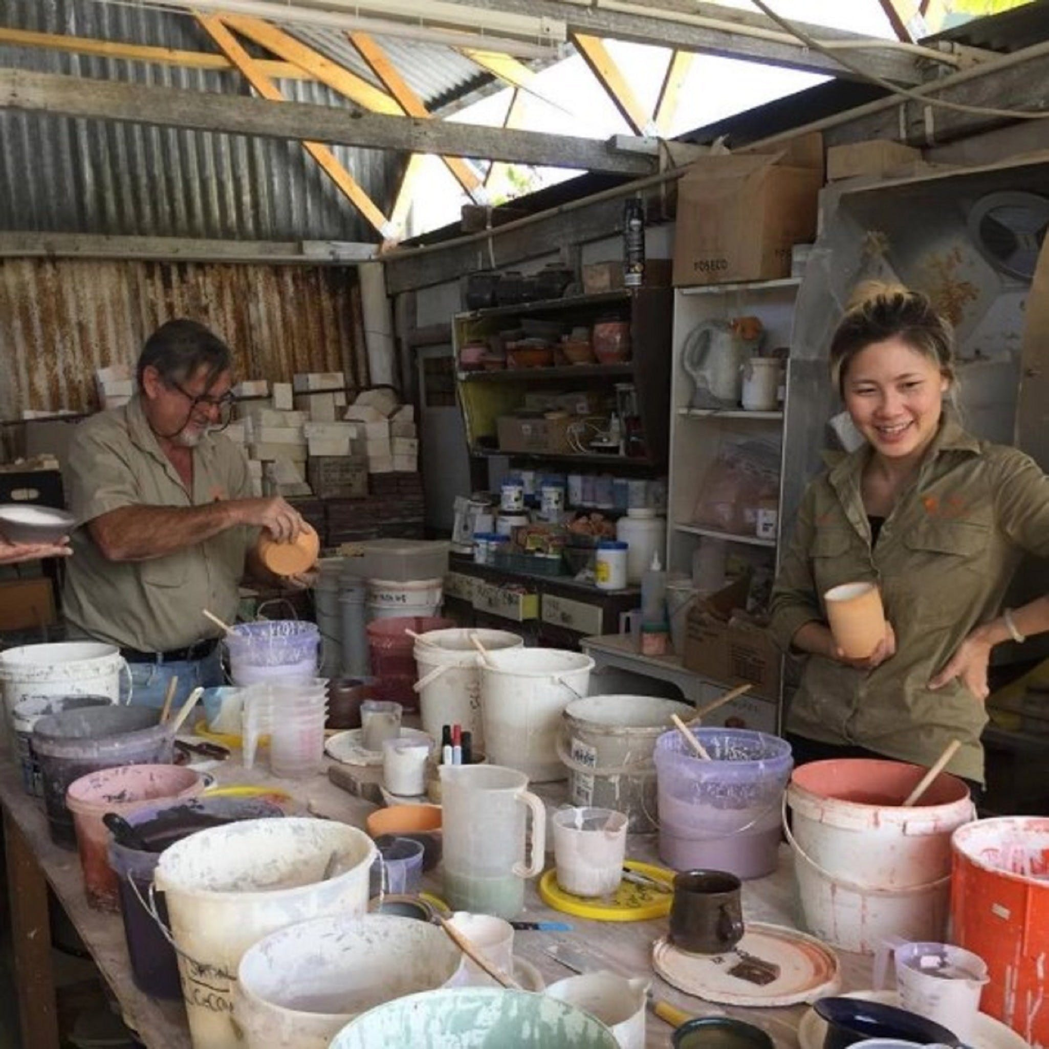 Introductory Pottery Glazing Class - Surfers Gold Coast