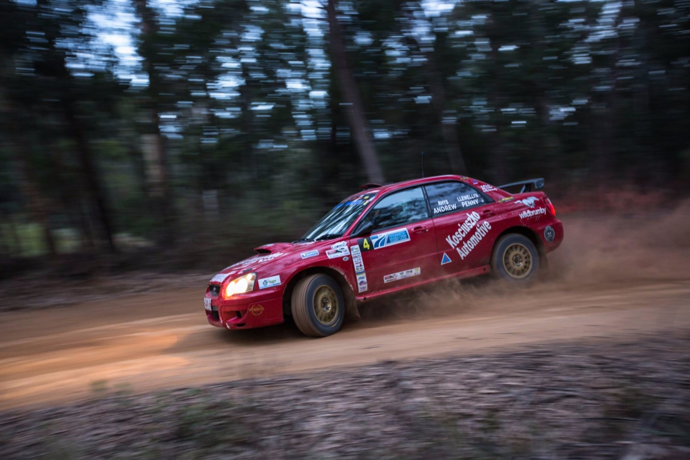 Narooma Forest Rally - Surfers Gold Coast