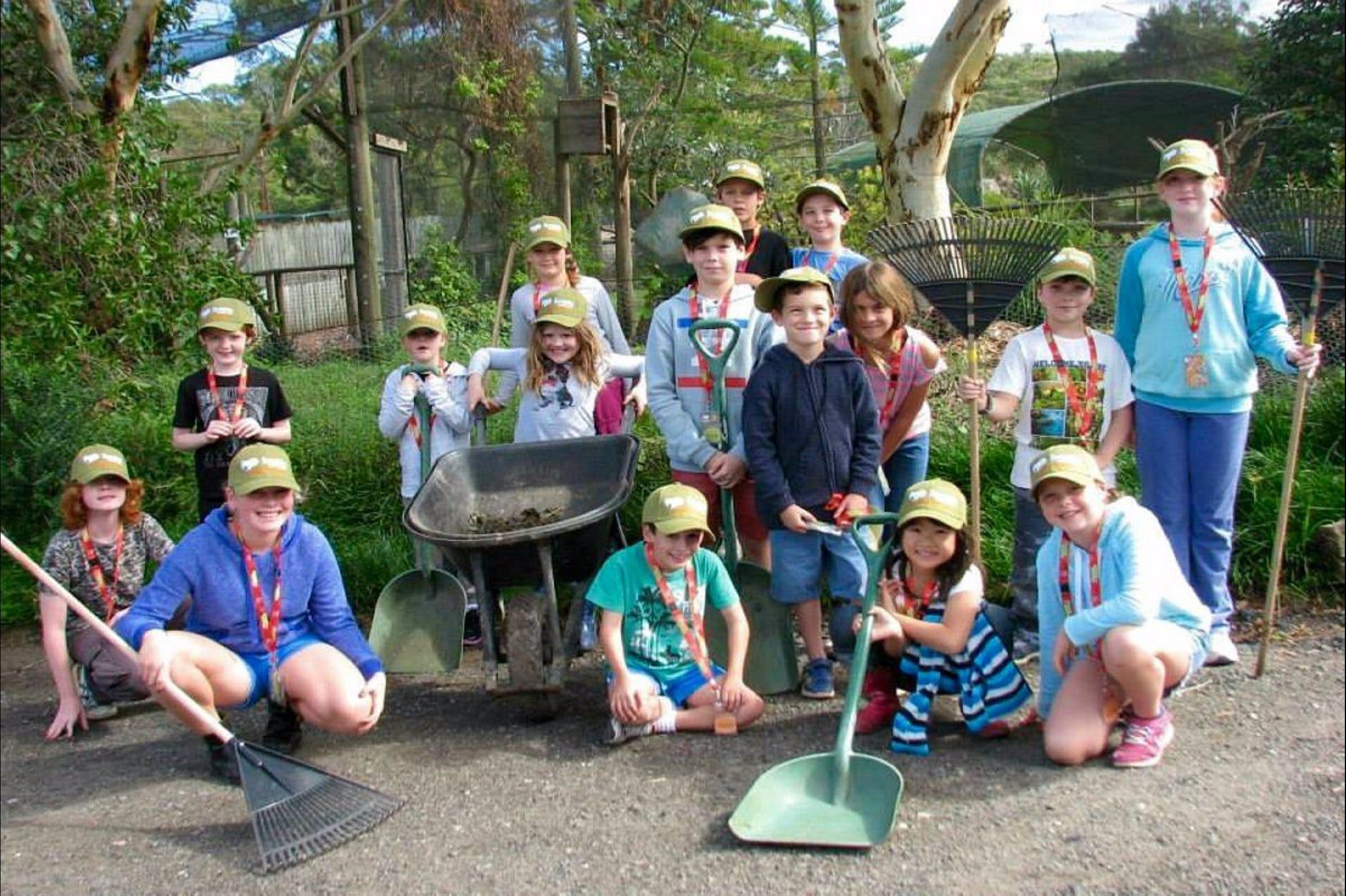 Symbio Wildlife Park - Junior Keeper Camp - Surfers Gold Coast
