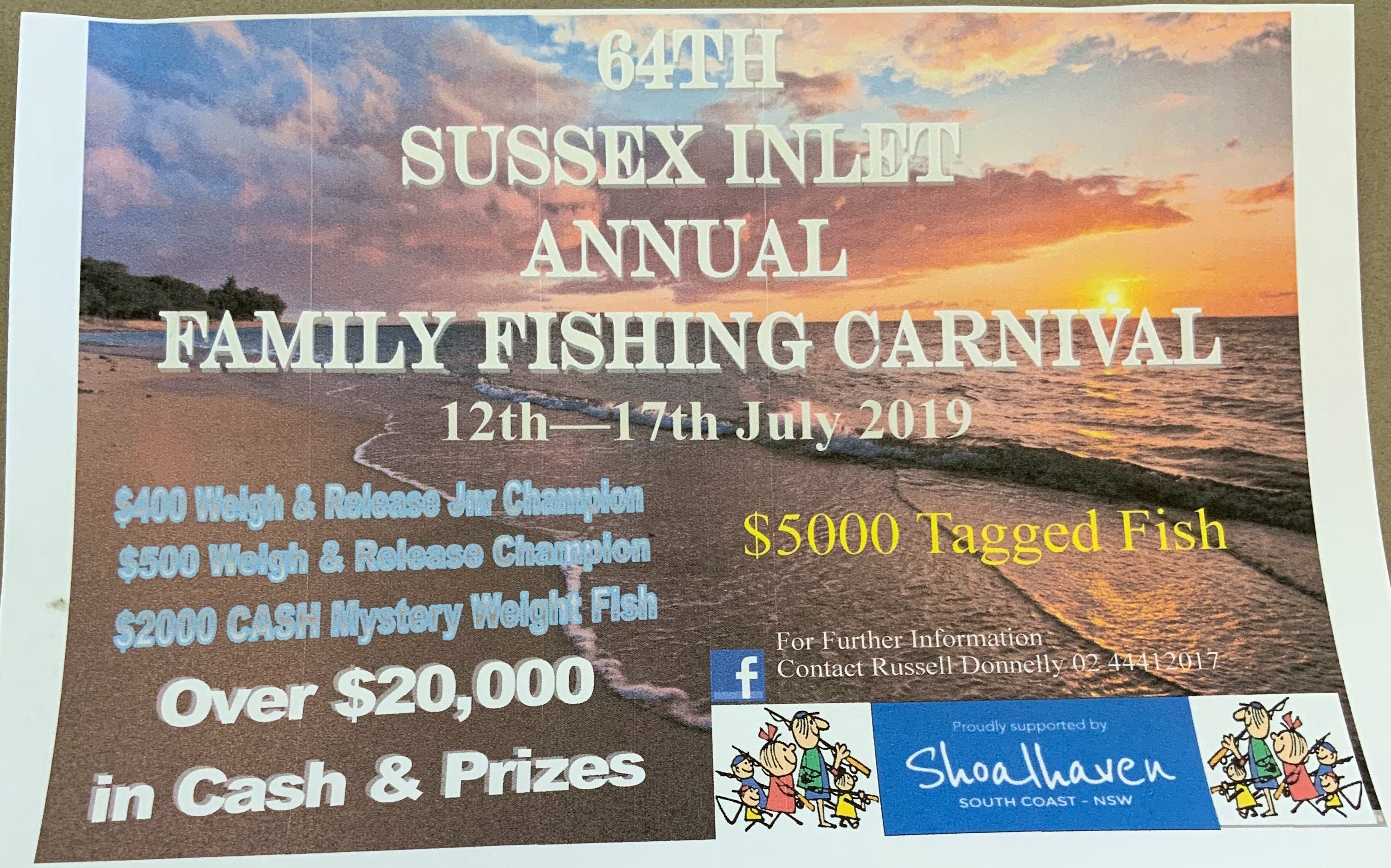 The Sussex Inlet Annual Family Fishing Carnival - Surfers Gold Coast