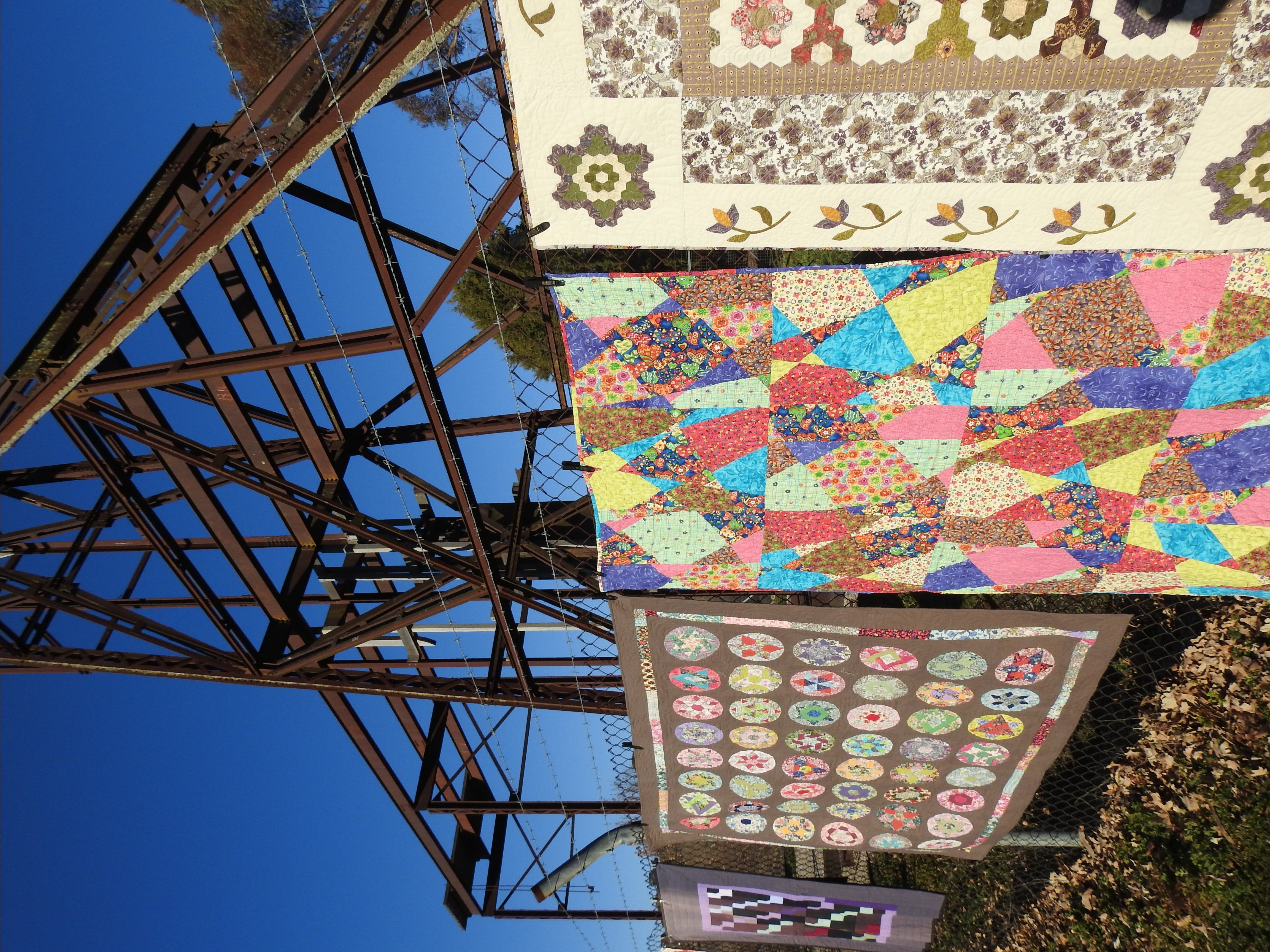 Wentworth Mine Airing of the Quilts - Surfers Gold Coast