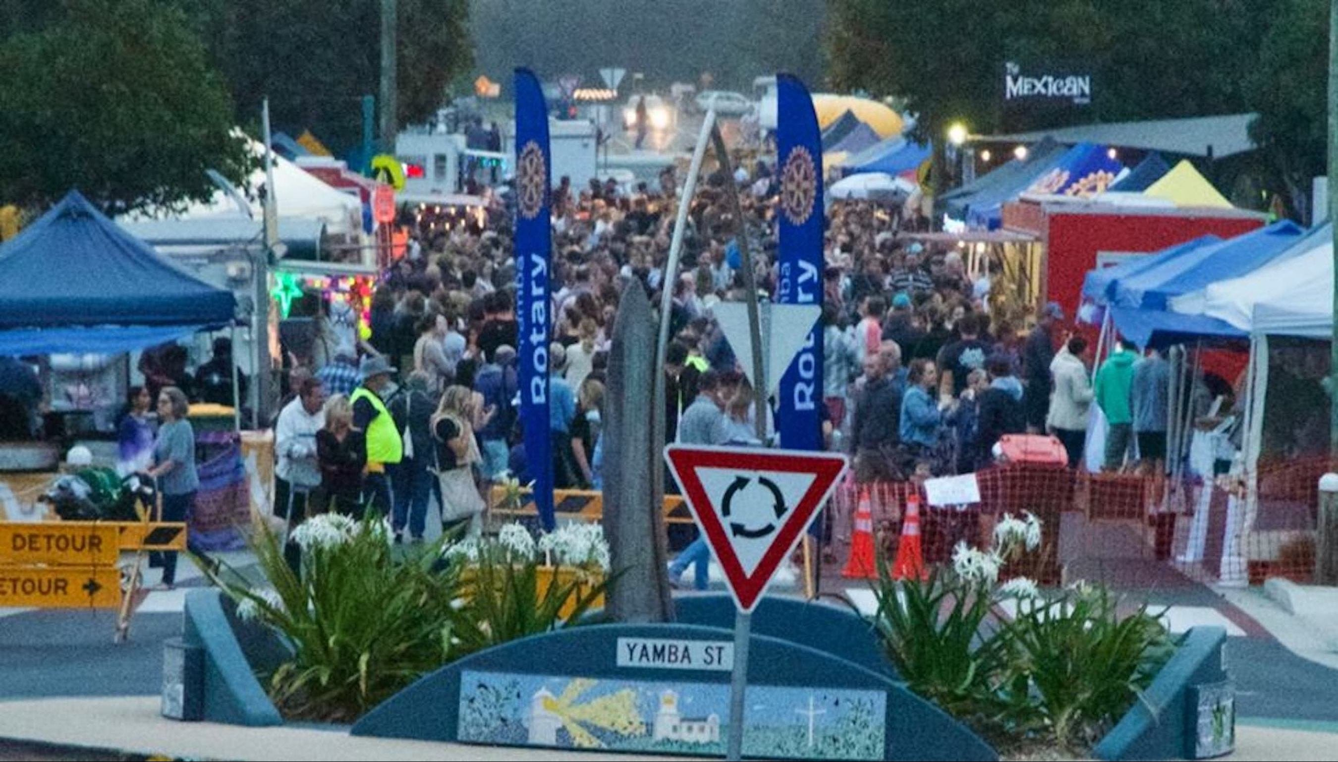 Yamba Twilight Street Markets - Surfers Gold Coast