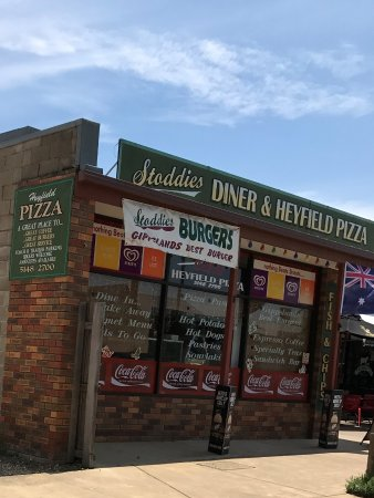 Stoddies Diner  Heyfield Pizza - Surfers Paradise Gold Coast
