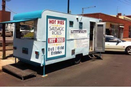 Kings Pie Cart - Surfers Gold Coast