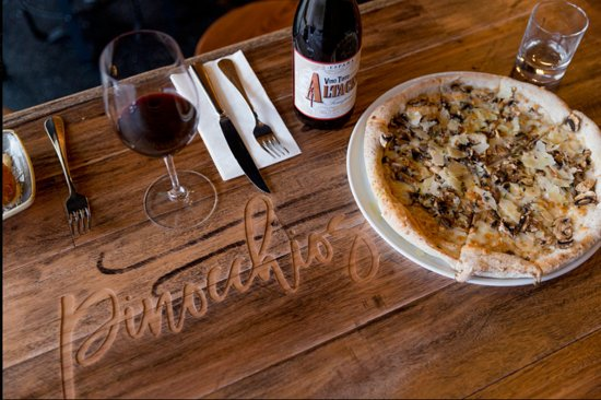 Pinocchios Wine  Pizza Bar - Surfers Gold Coast